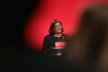 Diane Abbott Labour Party Conference - Day Three