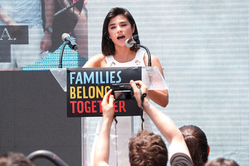 Diane Guerrero Families Belong Together Rally In Washington DC Sponsored By MoveOn, National Domestic Workers Alliance, And Hundreds Of Allies