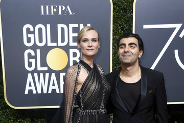 Diane Kruger Fatih Akin 75th Annual Golden Globe Awards - Arrivals