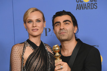Diane Kruger Fatih Akin 75th Annual Golden Globe Awards - Press Room