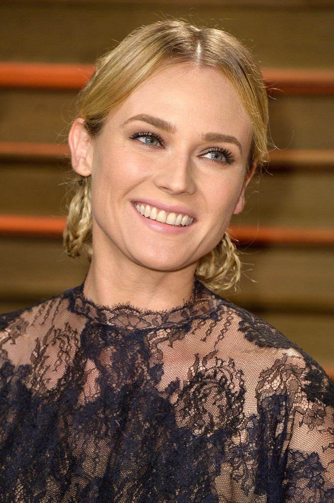 Hair Envy of the Day: Diane Kruger's Looped Braids