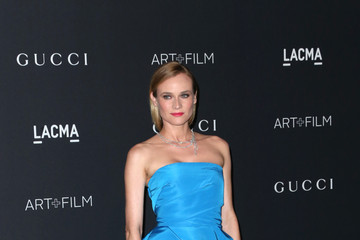 Diane Kruger LACMA 2015 Art+Film Gala Honoring James Turrell and Alejandro G Inarritu, Presented by Gucci - Arrivals