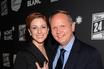Diane Neal Jan-patrick Schmitz MONTBLANC Presents The 12th Annual Production Of The 24 Hour Plays On Broadway - After Party