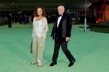 Diane Von Furstenberg Barry Diller The Academy Museum Of Motion Pictures Opening Gala - Arrivals