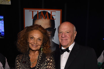 Diane Von Furstenberg Barry Diller TIME 100 Gala, TIME's 100 Most Influential People In The World - Cocktails