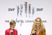 Cindi Leive and Jennifer Nettles attend Diane Von Furstenberg's InCharge Conversations 2020 Presented by Mastercard on March 06, 2020 in New York City.
