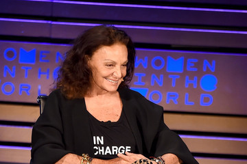 Diane von Furstenberg 2018 Women In The World Summit