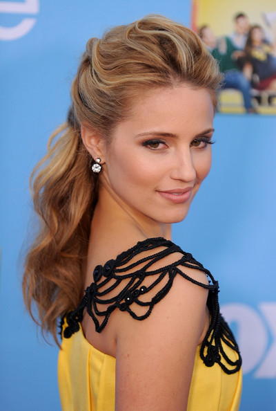 glee dianna agron wallpaper. dianna agron glee season 2.
