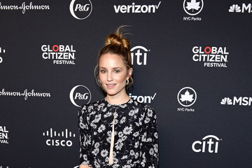 Dianna Agron 2019 Global Citizen Festival: Power The Movement – Red Carpet And Backstage
