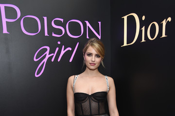 Dianna Agron Dior Beauty Hosts NY Poison Club With Camille Rowe