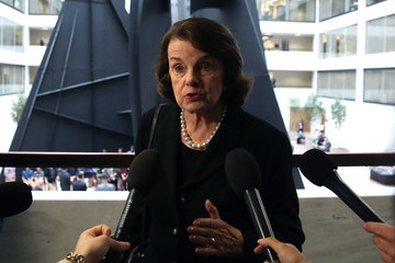 Dianne Feinstein Senate Select Committee Holds Closed Door Meeting On Intelligence Matter