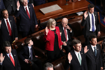 Dick Cheney A Changing Of The Guard As The 115th U.S. Congress Convenes