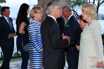 Dick Smith The Prince of Wales & Duchess of Cornwall Visit Australia - Day 3