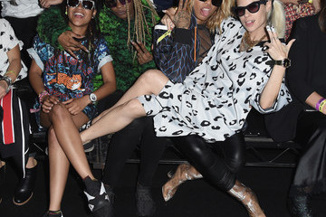 Die Antwoord KENZO x H&M Launch Event Directed by Jean-Paul Goude' - Front Row