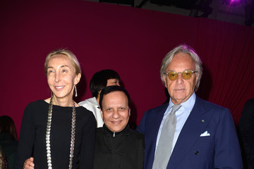 Diego Della Valle Front Row at Schiaparelli