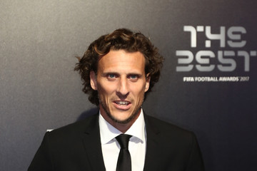 Diego Forlan The Best FIFA Football Awards - Green Carpet Arrivals