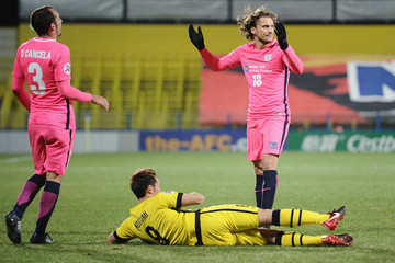 Diego Forlan Kashiwa Reysol Vs. Kitchee - AFC Champions League Group E