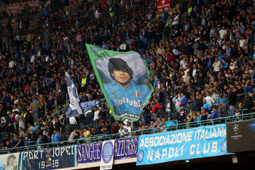 Diego Maradona SSC Napoli vs. Liverpool - UEFA Champions League Group C