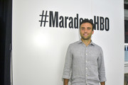 Giuseppe Rossi attends The Diego Maradona Temple Experience on September 19, 2019 in New York City.