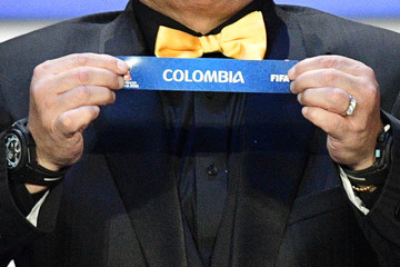 Diego Maradona Final Draw for the 2018 FIFA World Cup Russia