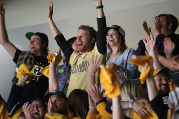 Dierks Bentley Celebrities Attend The 2017 NHL Stanley Cup Final - Game Four