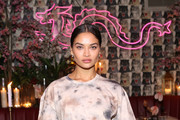 Shanina Shaik attends Diesel x A-Cold-Wall Dinner at Chinese Tuxedo on September 09, 2019 in New York City.
