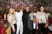 Sofia Richie, founder and designer of A-COLD-Wall Samuel Ross, president of OTB group and founder of Diesel Mr. Renzo Ross, A$AP Ferg and Shanina Shaik attend Diesel x A-Cold-Wall Dinner at Chinese Tuxedo on September 09, 2019 in New York City.