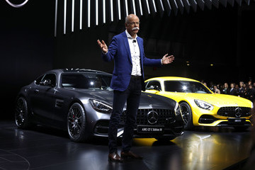 Dieter Zetsche North American International Auto Show Features Latest Car Models