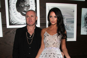 Damien Hirst and Roxie Nafousi Photos Photo