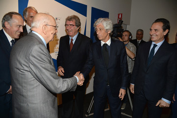Dino Zoff Italian Football Federation Exhibition