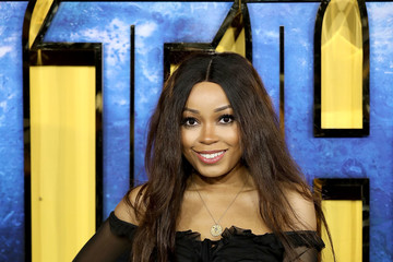 Dionne Bromfield 'Black Panther' European Premiere - Red Carpet Arrivals