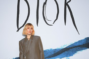 Noomi Rapace  attends the Dior Homme Menswear Fall/Winter 2019-2020 show as part of Paris Fashion Week on January 18, 2019 in Paris, France.