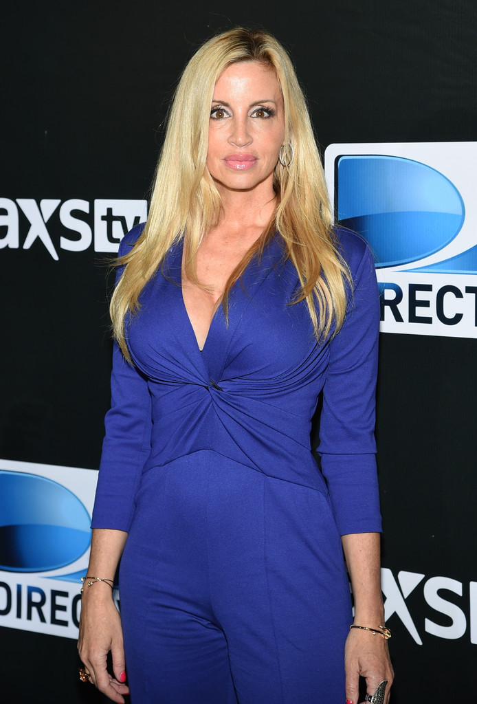 how tall is camille grammer