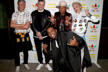 Dirk Schonberger Pharrell Williams And Adidas Celebrate Collaboration