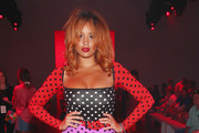 Lion Babe attends the Discount Universe front row during New York Fashion Week: The Shows at Gallery II at Spring Studios on September 6, 2018 in New York City.
