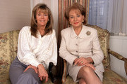Unspecified - 1998: (L-R) Jane Fonda with Barbara Walters on 'Barbara Walters Special' 'Women Of The Century'.