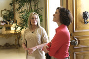 """20/20- 3/17/09 .Candy Spelling gives Elizabeth Vargas a tour of her estate in Los Angeles, airing Friday, March 27, 2009 on """"20/20"""" on the ABC Television Network.     .(Photo by Ron Tom/ABC via Getty Images)   .CANDY SPELLING, ELIZABETH VARGAS"""