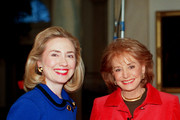"""ABC1(01/11/96)--20/20--Hillary Rodham Clinton (left) talks to Barbara Walters (right) concerning the controversies currently surrounding her on ABC News """"20/20,"""" FRIDAY, JANUARY 12 (10:00-11:00 p.m., ET) on the ABC Television Network. In her first interview with Ms. Walters, the First Lady answers questions concerning the White House travel office and her involvement in the ill-fated Whitewater project as well as the suicide of Vincent Foster.  Mrs. Clinton also expresses her views on a wide range of topics, including child care, universal health coverage, abortion, divorce and how she views her role as First Lady.""""  MANDATORY CREDIT:  TERRY ASHE/ABC NEWS .FOR DISTRIBUTION IN NORTH AMERICA ONLY.."""