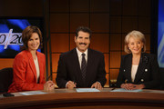 "20/20 - 9/24/04.Barbara Walters' last broadcast as anchor of ""20/20"", which she has been on for 25 years, aired Sept. 24, 2004 on the ABC Television Network. Pictured: Barbara Walters (right) with Elizabeth Vargas, who will take over as co-anchor at the 20/20 desk on Oct. 1, and co-anchor John Stossel.   .ABC/Virginia Sherwood)  .ELIZABETH VARGAS, JOHN STOSSEL, BARBARA WALTERS"