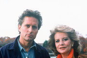 """THE BARBARA WALTERS SPECIAL - 3/27/95 .Producer/actor Michael Douglas discussed a wide range of issues on """"The Barbara Walters Special"""" airing Monday, March 27, 1995. The annual Oscar-night telecast precedes the ABC Television Network's coverage of the Academy Awards. .(Photo by ABC News via Getty Images).MICHAEL DOUGLAS, BARBARA WALTERS"""
