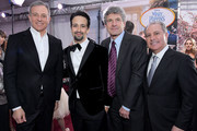(L-R) The Walt Disney Company Chairman and CEO Bob Iger, actor Lin-Manuel Miranda, Chairman, The Walt Disney Studios, Alan Horn and Walt Disney Studios President, Alan Bergman attend Disney's 'Mary Poppins Returns' World Premiere at the Dolby Theatre on November 29, 2018 in Hollywood, California.