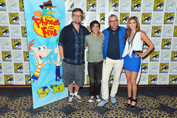 "Dan Povenmire Disney's ""Phineas And Ferb"" ""Gravity Falls"" And ""Fish Hooks"" Press Room - Comic-Con International 2012"