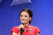 Julia Louis-Dreyfus of 'Onward' took part today in the Walt Disney Studios presentation at Disney's D23 EXPO 2019 in Anaheim, Calif.  'Onward' will be released in U.S. theaters on March 6, 2020.