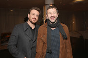 """Jason Segel and Chris O'Dowd attend the """"Dispatches from Elsewhere"""" - Tastemaker event on December 12, 2019 in Los Angeles, California."""