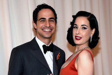 Dita Von Teese 24th Annual Elton John AIDS Foundation's Oscar Viewing Party - Red Carpet