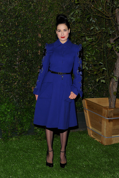 Dita Von Teese - LoveGold Celebrates 2013 Golden Globe Nominee Julianne Moore