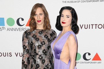 Dita Von Teese The Museum Of Contemporary Art, Los Angeles, Celebrates 35th Anniversary Gala Presented By Louis Vuitton - Arrivals