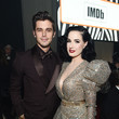 Dita Von Teese 28th Annual Elton John AIDS Foundation Academy Awards Viewing Party Sponsored By IMDb, Neuro Drinks And Walmart - Inside