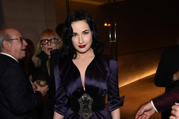 Dita Von Teese amfAR Inspiration Los Angeles Dinner