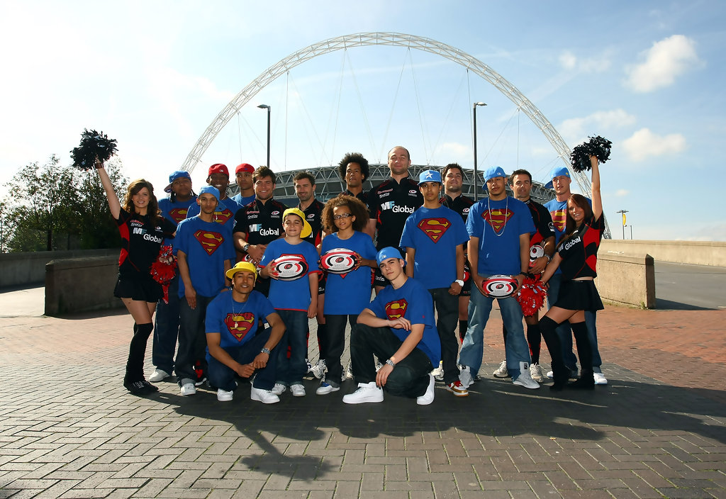 Saracens Rugby Team Rugby Team to Dance